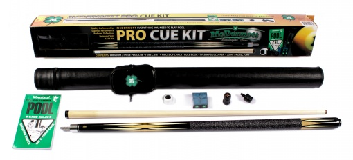 McDermott - Pool Billiards Cue KIT - Pro