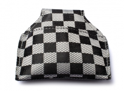 Billiard Chalk Bags Phoenix Cue -  small checks, silver