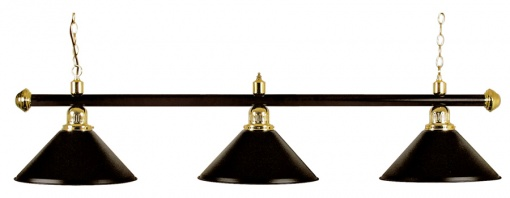 Billardlampe Modell London - schwarz