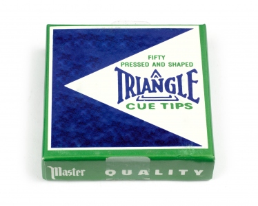 Cue Tip Triangle - H - 13.5 mm, 50er box