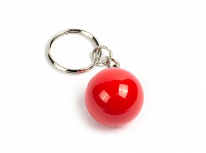 Key Fob Aramith® - Red sphere