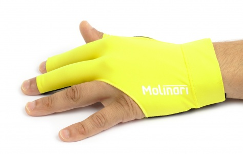 Billiard Cue Glove Molinari™ - Yellow