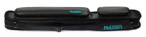 Pool Billiard Soft Case Molinari™ - 2/4, black/black