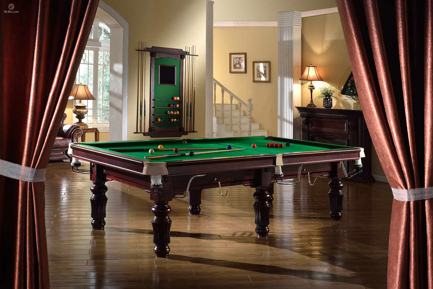 Snooker Table Robertson - Tournament - 10 ft. | McBillard