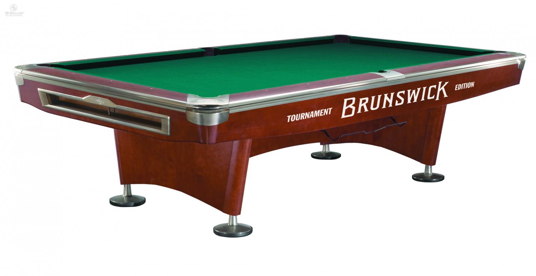 Pool Billiard Table Brunswick Gold Crown V Mahogany