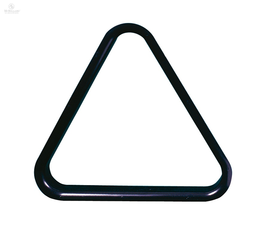 Rack Triangle 8 Ball Pool Billiards Table Pc Standard Size: Billiard Rack Triangle - PVC, For 38 Mm Balls
