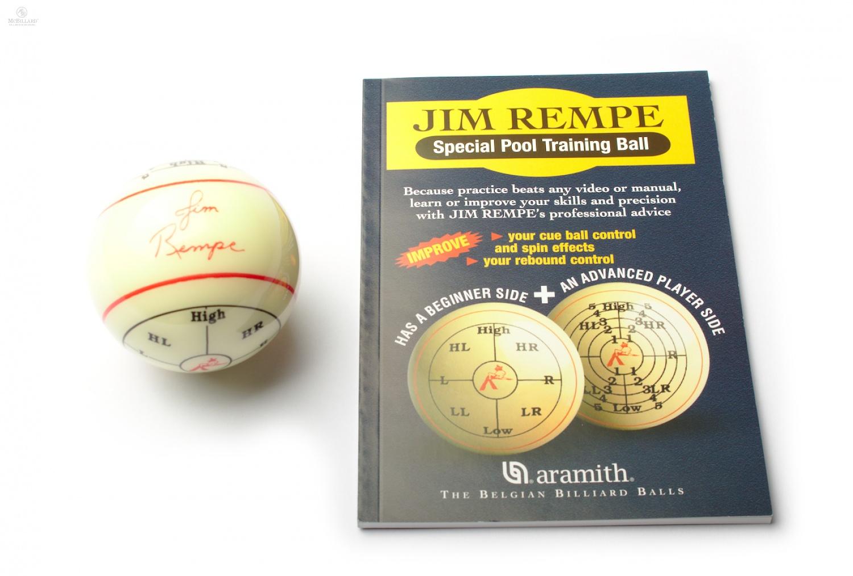 Billiard Ball Aramith 174 Jim Rempe Training Pool
